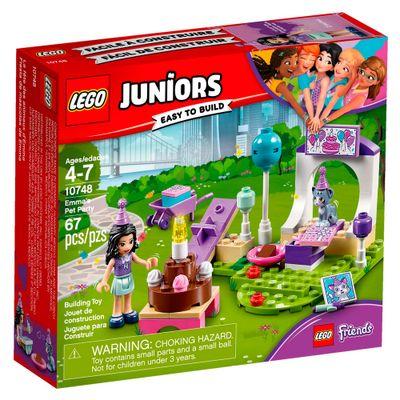 LEGO-Juniors---Friends---Festa-Animais-de-Estimacao-da-Emma---10748