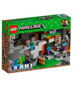 LEGO-Minecraft---Caverna-do-Zombie---21141