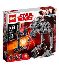 LEGO-Star-Wars---AT-ST-da-Primeira-Ordem---75201