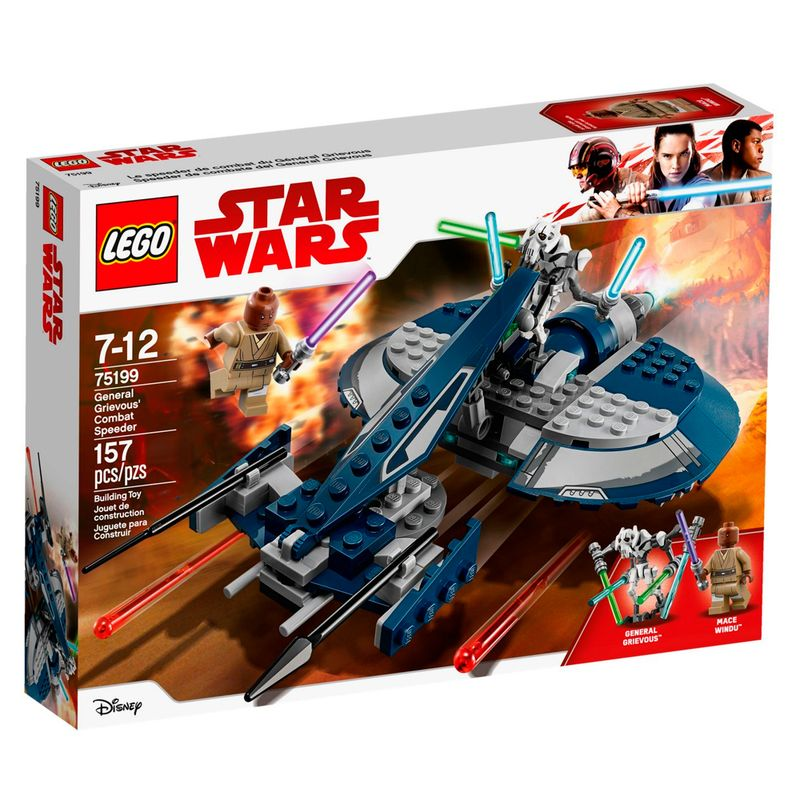 LEGO Star Wars - Speeder de Combate do General Grevious - 75199