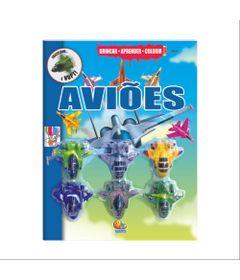 Livro-Infantil---Brincar---Aprender-e-Colorir---Avioes---Todo-Livro