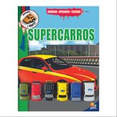 Livro-Infantil---Brincar---Aprender-e-Colorir---Super-Carros---Todo-Livro