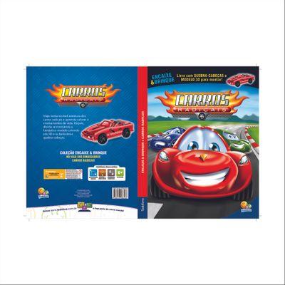 Livro-Infantil---Encaixe-e-Brinque---Carros-Radicais---Todo-Livro