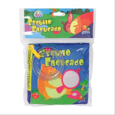 Livro-Infantil---Que-Fofura---Esquilo-Educado---Todo-Livro