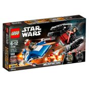 LEGO-Star-Wars---Microfighters-A-wing-vc-Silenciador-TIE--75196