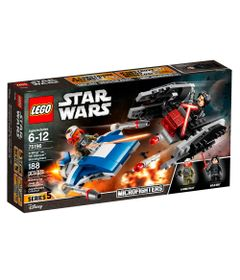 LEGO-Star-Wars---Microfighters-A-wing-vc-Silenciador-TIE--75196