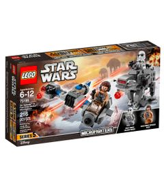 LEGO-Star-Wars---Microfighters-Ski-Speeder-vs-Walker-de-Assalto-da-Primeira-Ordem---75159