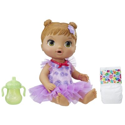 Boneca-Baby-Alive---30-Cm---Bailarina-Morena---E2630---Hasbro