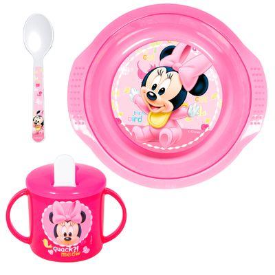 Conjunto-de-Alimentacao---3-Pecas---Disney---Minnie-Mouse---New-Toys