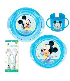 Conjunto-de-Alimentacao---5-Pecas---Disney---Mickey-Mouse---New-Toys