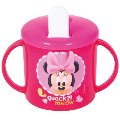 Copo-com-Canudo-e-Alca---Disney---Minnie-Mouse---New-Toys