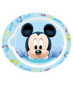 Pratinho-Plastico---Oval---Disney---Mickey-Mouse---New-Toys