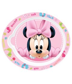 Pratinho-Plastico---Oval---Disney---Minnie-Mouse---New-Toys