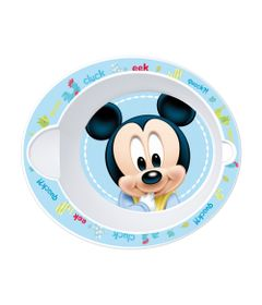 Tigelinha-Plastico---Oval---Disney---Mickey-Mouse---New-Toys