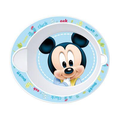 Tigelinha-Plastico---Oval---Disney---Mickey-Mouse---New-Toys