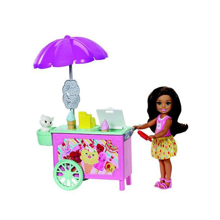 Boneca-Barbie---Conjuntos-da-Chelsea---Carrinho-de-Sorvete---Mattel_Frente