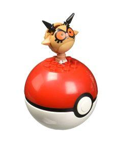 Bloco-de-Montar---Mega-Construx---Pokemon---Pokebola---Hoothoot---Mattel