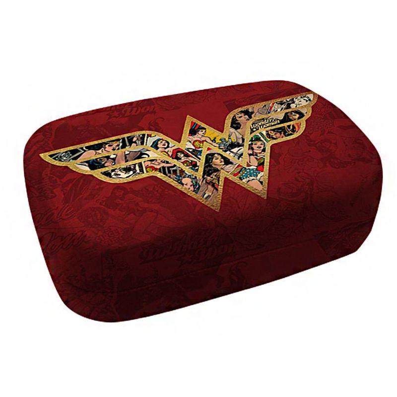 2b110b5100186 Case Porta Lentes de Contato - DC Comics - Logo - Wonder Woman - Urban - Ri  Happy Brinquedos