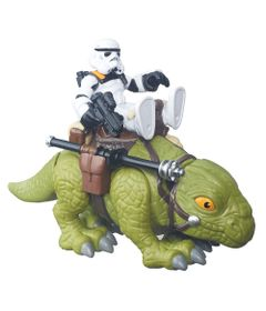 Playset-Star-Wars---Playskool---Sandtrooper-e-Dewback---Hasbro---Disney