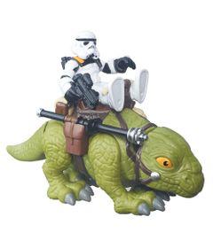 Playset-Star-Wars---Playskool---Sandtrooper-e-Dewback---Hasbro---Disney
