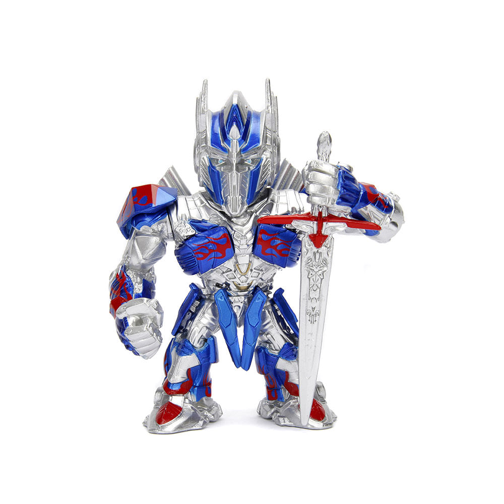 Figura Colecionável 10 Cm - Metals - Transformers 4 - Optimus Prime - DTC