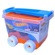 Acessorios-de-Praia-e-Piscina---Carrinho-com-Bau---Hot-Wheels---Fun