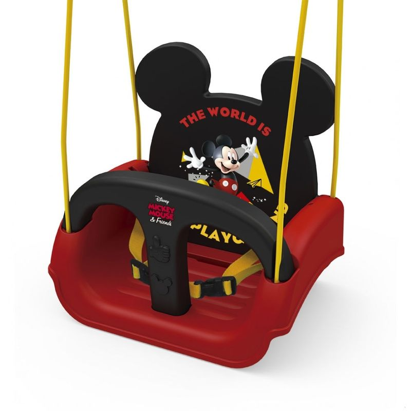 1ce42ab5df7 Balanço Infantil com Encosto Ajustável - Disney - Mickey Mouse - Xalingo - Ri  Happy Brinquedos