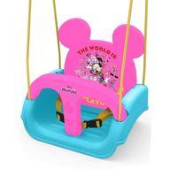 Balanco-Infantil-com-Encosto-Ajustavel---Disney---Minnie-Mouse---Xalingo