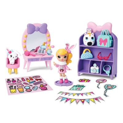 Playset-e-Mini-Figura-Sortida---Poppers---Party-Pop-Teenies---Festa-Surpresa---Sunny