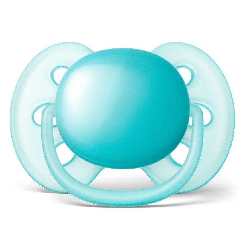 Chupeta-Ultra-Soft---Lisa---6-a-18-Meses---Meninos---Philips-Avent