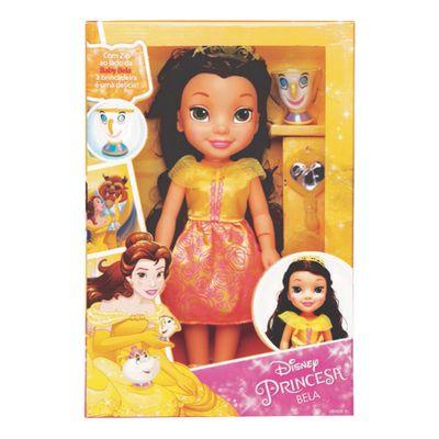 Boneca-30-Cm---Disney---Minha-Primeira-Princesa-Real---Disney---Princesas---Bela---Mimo