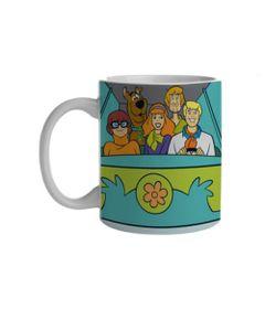 Caneca-de-Porcelana---300-Ml---Hanna-Barbera---Scooby-Doo---Maquina-do-Misterio---Metropole