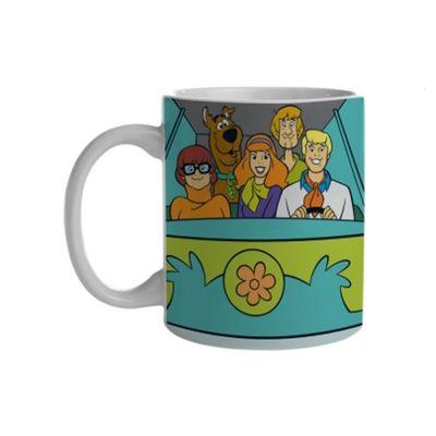 Caneca De Porcelana 300 Ml Hanna Barbera Scooby Doo