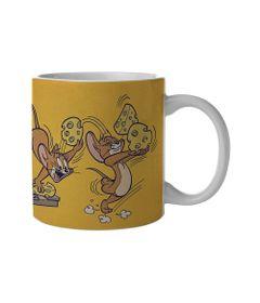 Caneca-de-Porcelana---300-Ml---Hanna-Barbera---Tom-e-Jerry---Armadilha-de-Rato---Metropole