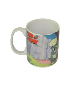 Caneca-de-Porcelana---300-Ml---Hanna-Barbera---Tom-e-Jerry---Festa-do-Churrasco---Metropole
