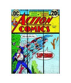 Placa-de-Madeira-Decorativa---DC-Comics---Super-Homem-Transformacao---366x50cm---Azul---Metropole