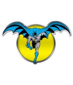 Placa-de-Parede-Metal-Recortada---DC-Comics---Batman-e-a-Lua---Amarelo---Metropole