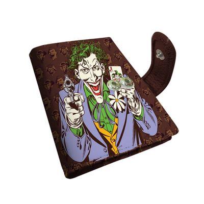 Porta-Cartao---DC-Comics---Coringa---8x105x15cm---Marrom---Metropole