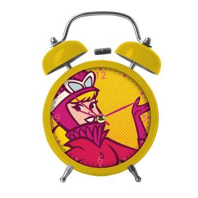 Relogio-de-Mesa-Despertador---Hanna-Barbera---Corrida-Maluca---Penelope-Charmosa---Metropole