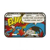 Placa-de-Parede-Metal---DC-Comics---Batman-e-Super-Homem---15x30x006---Metropole
