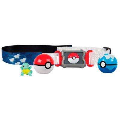 Conjunto-de-Acao---Pokemon---Cinto-Porta-Pokebolas---Squirtle---Sunny