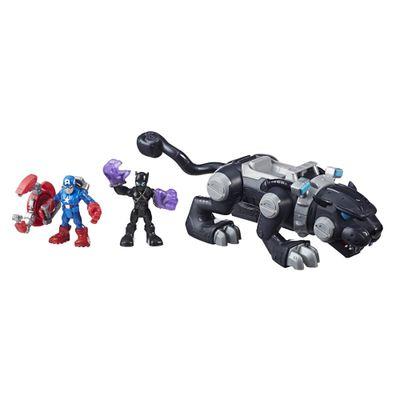 Conjunto-Deluxe-Adventure-Pack---Marvel---Pantera-Negra-com-Garras---Hasbro