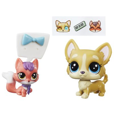 Mini-Bonecas-Littlest-Pet-Shop---Earl-Duketon---Ena-Foxwarth---Hasbro