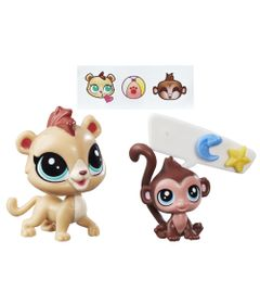 Mini-Bonecas-Littlest-Pet-Shop---Masai-Manely---Abiu-Arbor---Hasbro