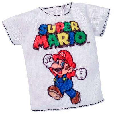 Roupinhas-e-Acessorios---Barbie---Super-Mario-Camiseta---Mattel