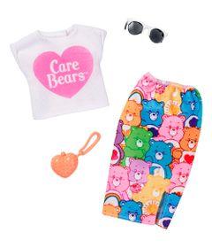 Roupinhas-e-Acessorios---Barbie---Ursinhos-Carinhosos-Saia-e-Blusa---Mattel