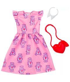 Roupinhas-e-Acessorios---Barbie---Ursinhos-carinhosos-Vestido-e-Bolsa---Mattel