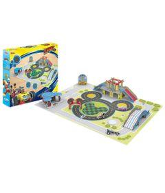 Quebra-Cabeca-90-Pecas---Disney---Circuito-de-Aventura-do-Mickey-Mouse---3D---Xalingo