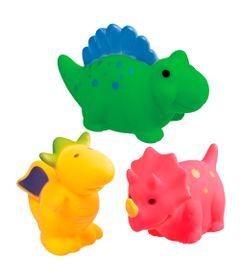 Brinquedo-de-Banho---Dinossauros-Coloridos---Girotondo-Baby