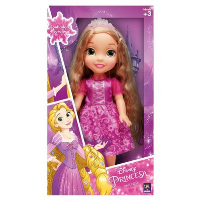Boneca-30-Cm---Disney---Minha-Primeira-Princesa-Real---Disney---Princesas---Rapunzel---Mimo